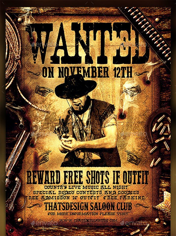 Wanted Poster Word Template Awesome 13 Western Wanted Poster Free Printable Word Pdf Psd