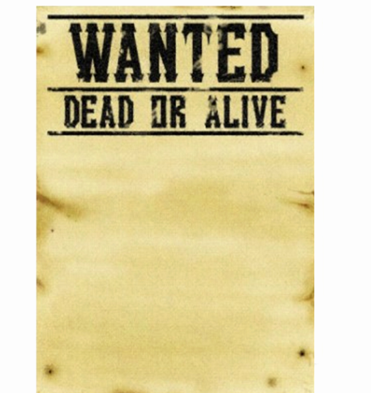 Wanted Poster Word Template Awesome Wanted Poster Template