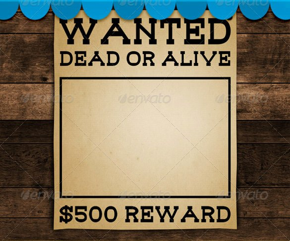 Wanted Poster Word Template Best Of Wanted Poster Template 34 Free Printable Word Psd
