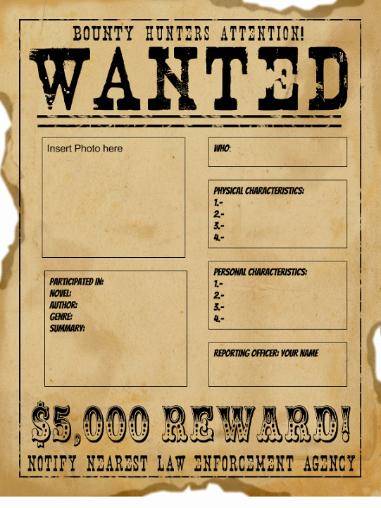 Wanted Poster Word Template Elegant Wanted Poster Templates Word Templates Docs