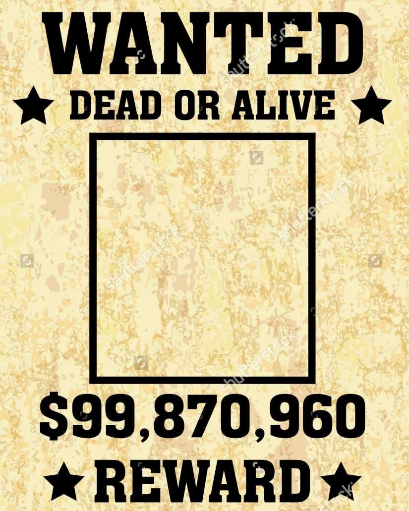 Wanted Poster Word Template Fresh 6 Wanted Poster Templates Word Excel Templates