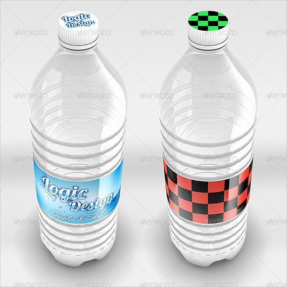 Water Bottle Labels Template Elegant 8 Water Bottle Label Templates – Free Samples Examples