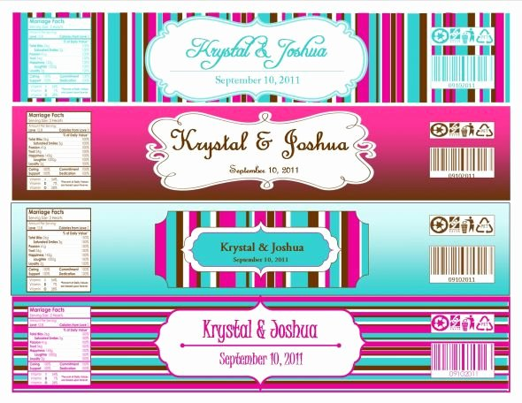 Water Bottle Labels Template Luxury Another Label Report… Link to Template Works now