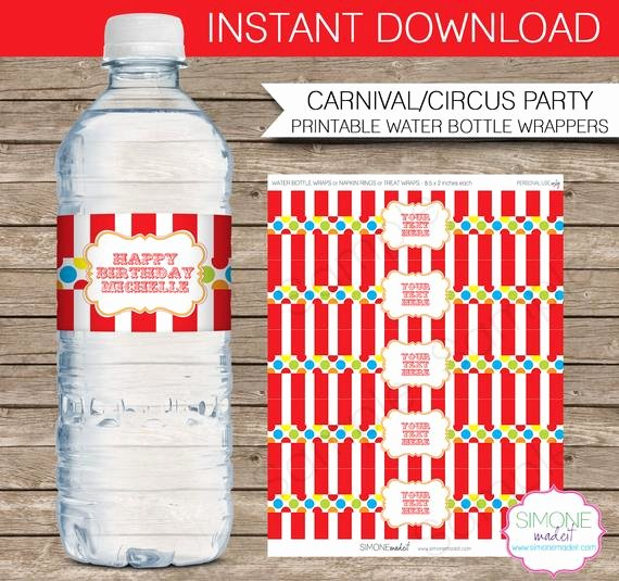 "Water Bottle Wrapper Template Beautiful Search Results for ""editable Water Bottle Wraps"