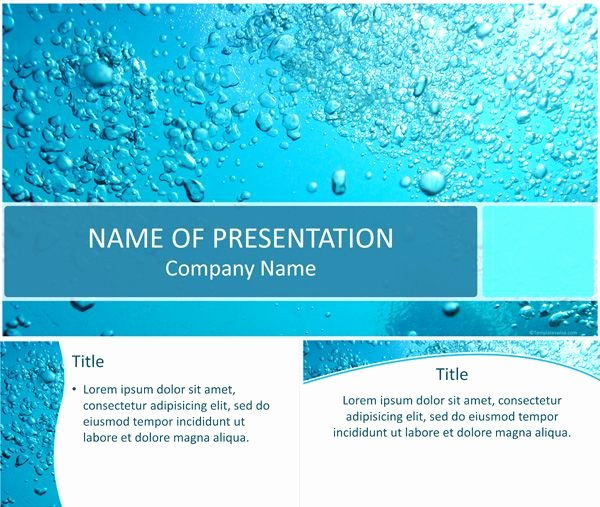 Water Power Point Template Fresh 7 Best Environment Powerpoint Templates Images On
