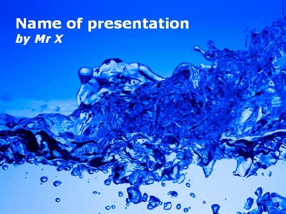 Water Power Point Template Inspirational 11 Best Powerpoint Templates Ppt Pptx