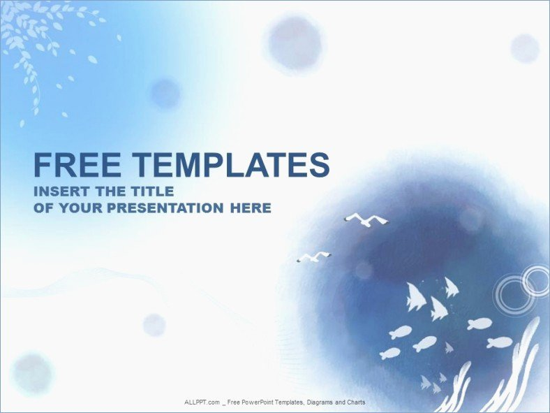 Water Power Point Template Lovely Designs Slides for Powerpoint Presentation – Playitaway