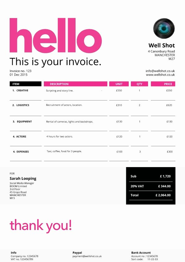 Web Design Invoice Template Elegant 23 Best Fancy Business forms Images On Pinterest
