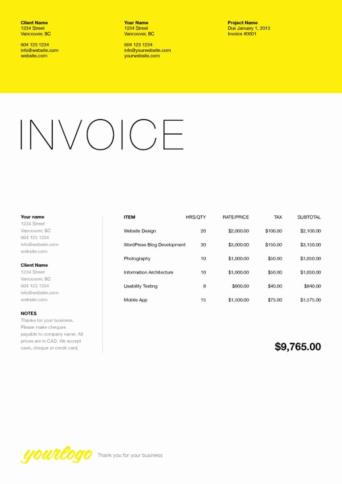 Web Design Invoice Template Inspirational 76 Best Web Design Quotation Images On Pinterest