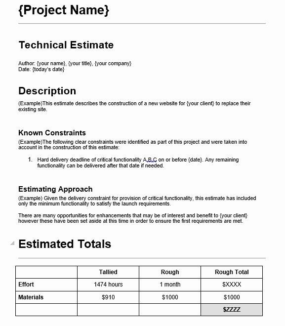 Web Design Quote Template Luxury 7 Free Sample Web Design Estimate Evaluation form
