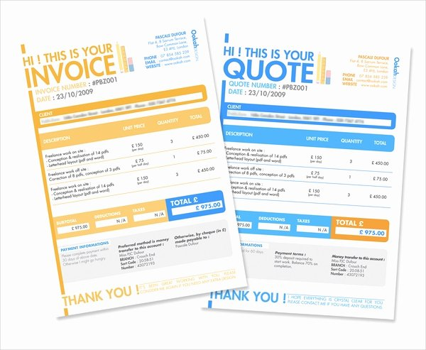 Web Design Quotes Template Best Of 53 Quotation Templates Pdf Doc Excel