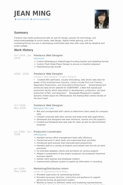 Web Developer Resume Template Elegant Web Design Resume Sample Best Resume Collection