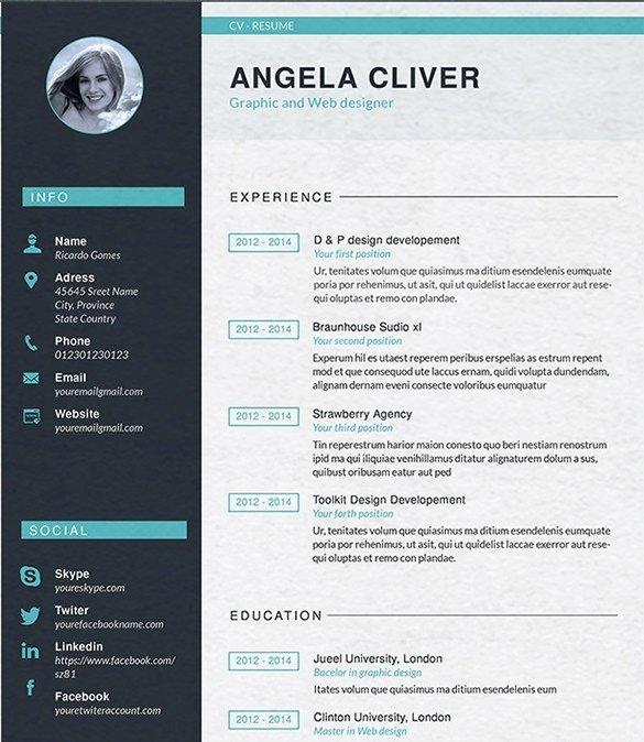 Web Developer Resume Template Inspirational Web Designer Resume Template