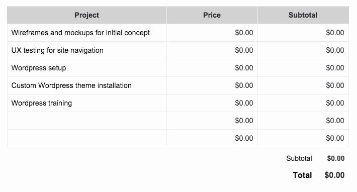 Web Development Proposal Template Luxury Wordpress Web Design Proposal Template Get Free Sample