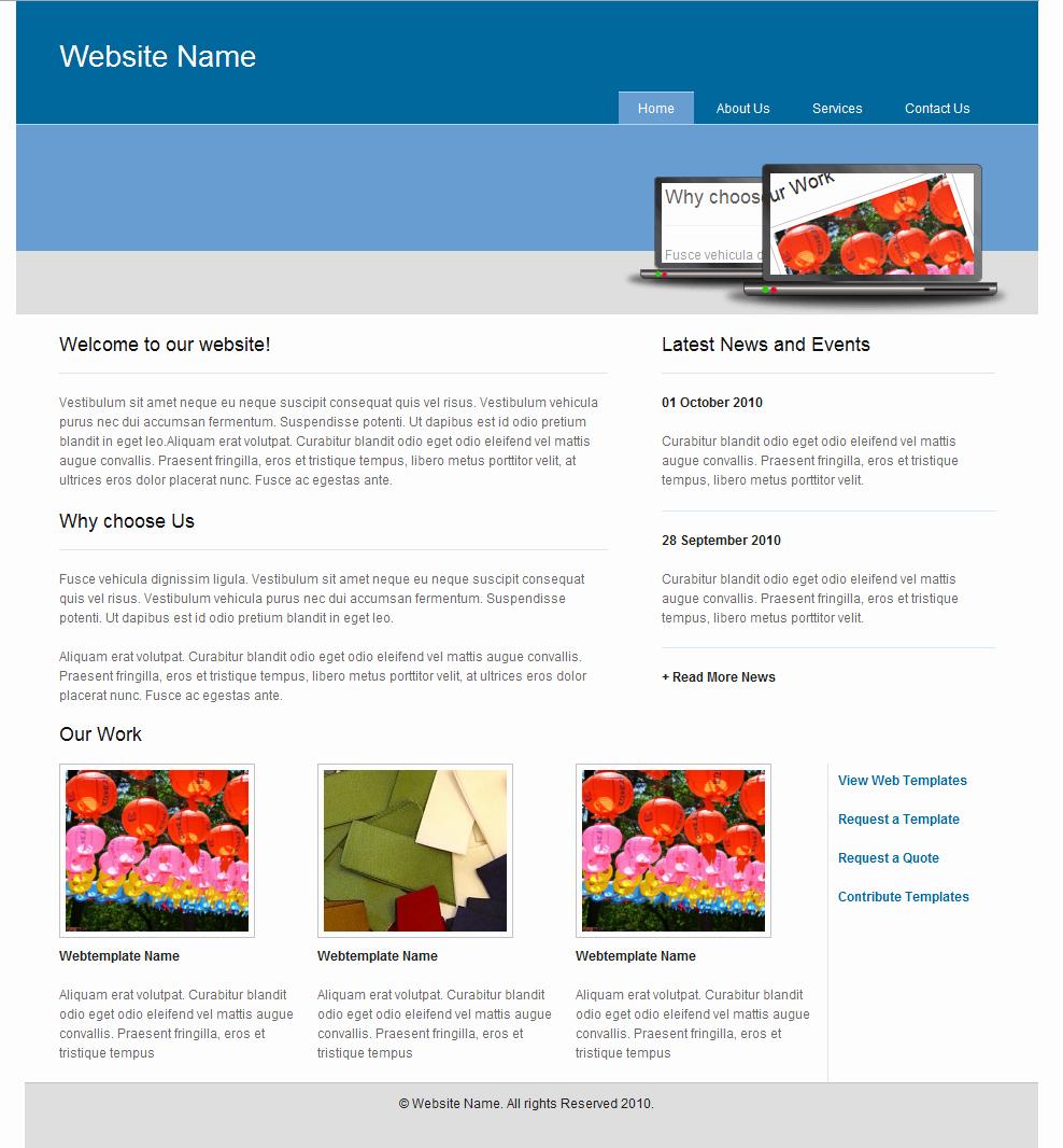 Web Page Template Word Elegant Crystal Web Templates