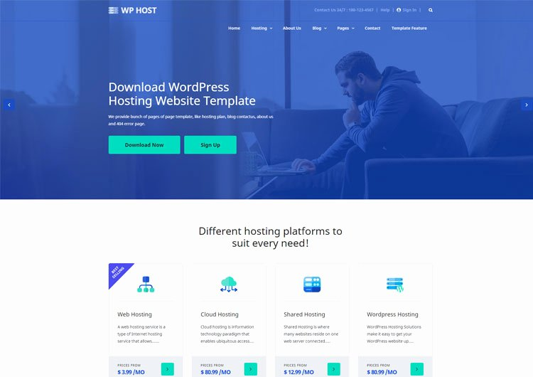 Web Page Template Word Elegant Hosting Archives Ease Template