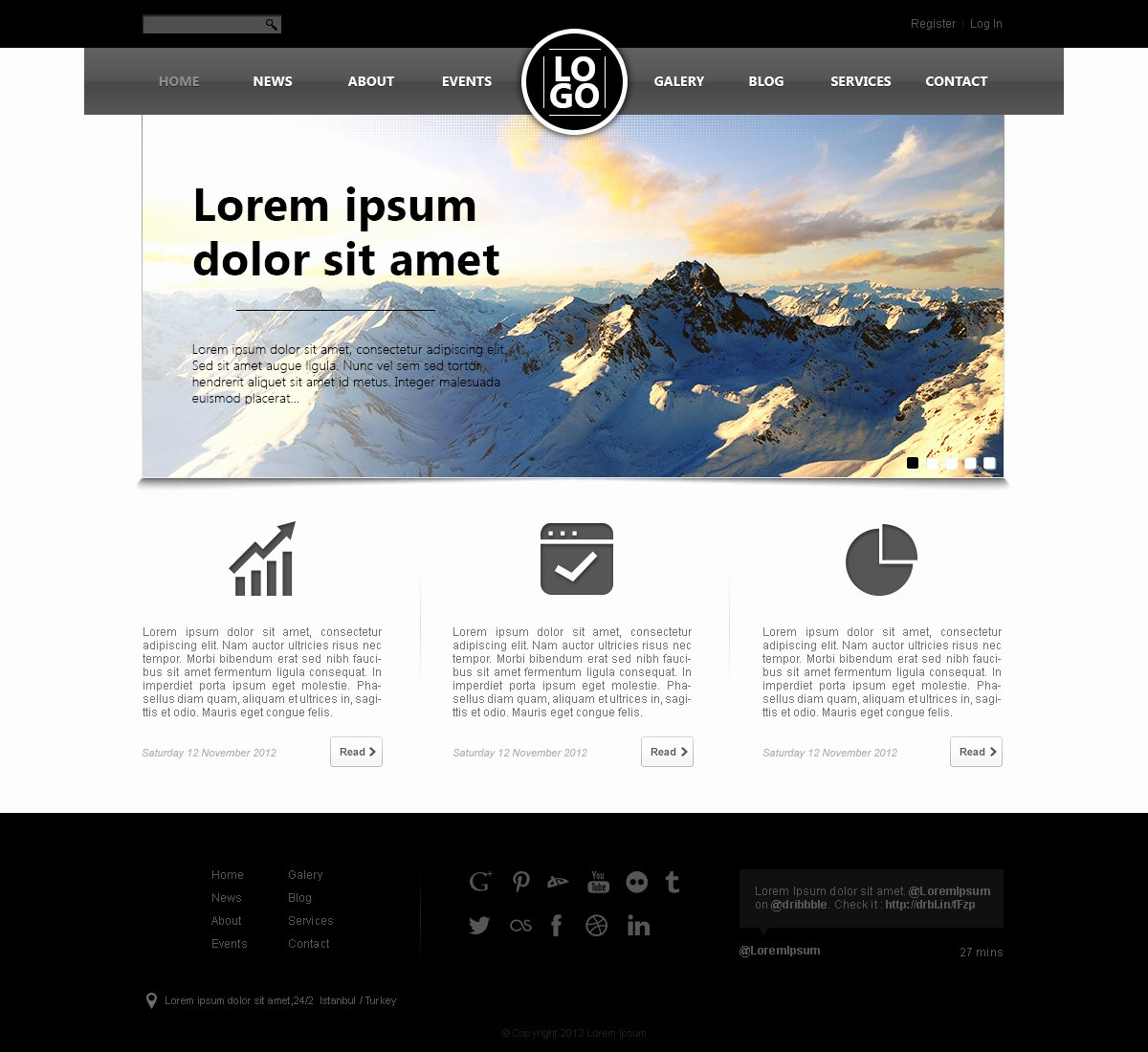 Web Page Template Word Inspirational Well Designed Psd Website Templates for Free Download
