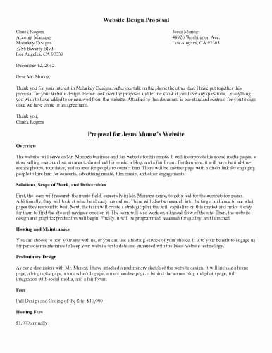Website Development Proposal Template Awesome 32 Sample Proposal Templates In Microsoft Word