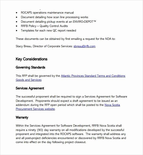 Website Development Proposal Template Elegant 13 software Development Proposal Templates to Download