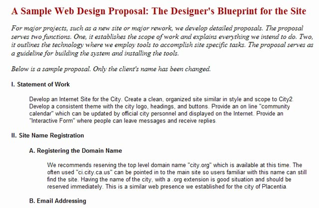 Website Development Proposal Template New Useful Web Design Proposal Resources tools and Apps