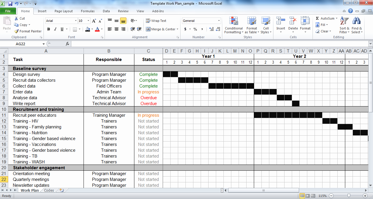 Website Project Plan Template Fresh Excel Project Schedule Template