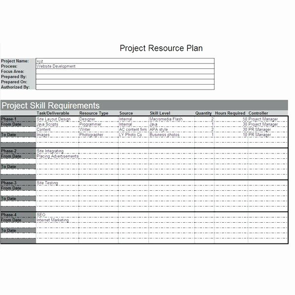Website Project Plan Template Fresh Website Project Plan Template Excel – Threestrands