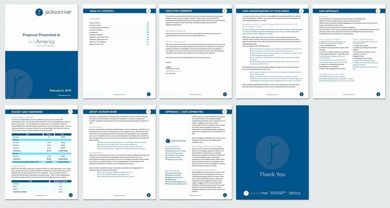 Website Proposal Template Word Inspirational Website Proposal Template Word – Kendi