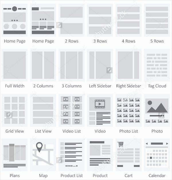 Website Site Map Template Elegant 13 Productive Ux Flowchart Templates