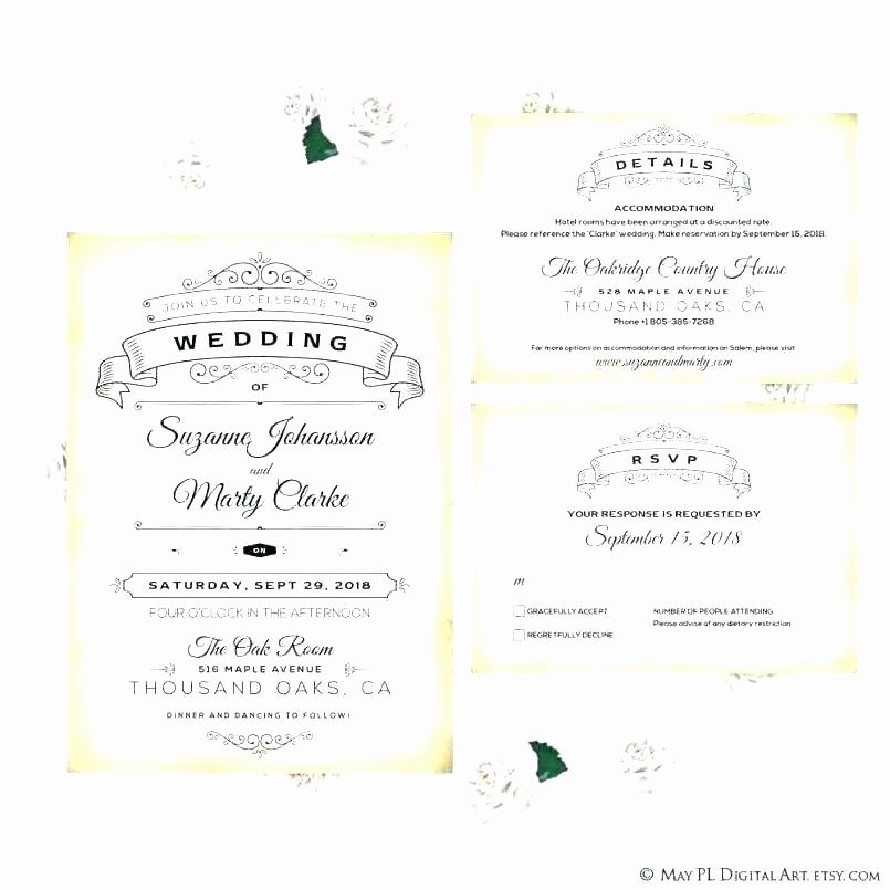 Wedding Accommodation Card Template Lovely Ac Modation Card Template