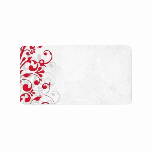 Wedding Address Label Template Fresh Looking for Answers About Avery Wedding Elegant Swirls Tag