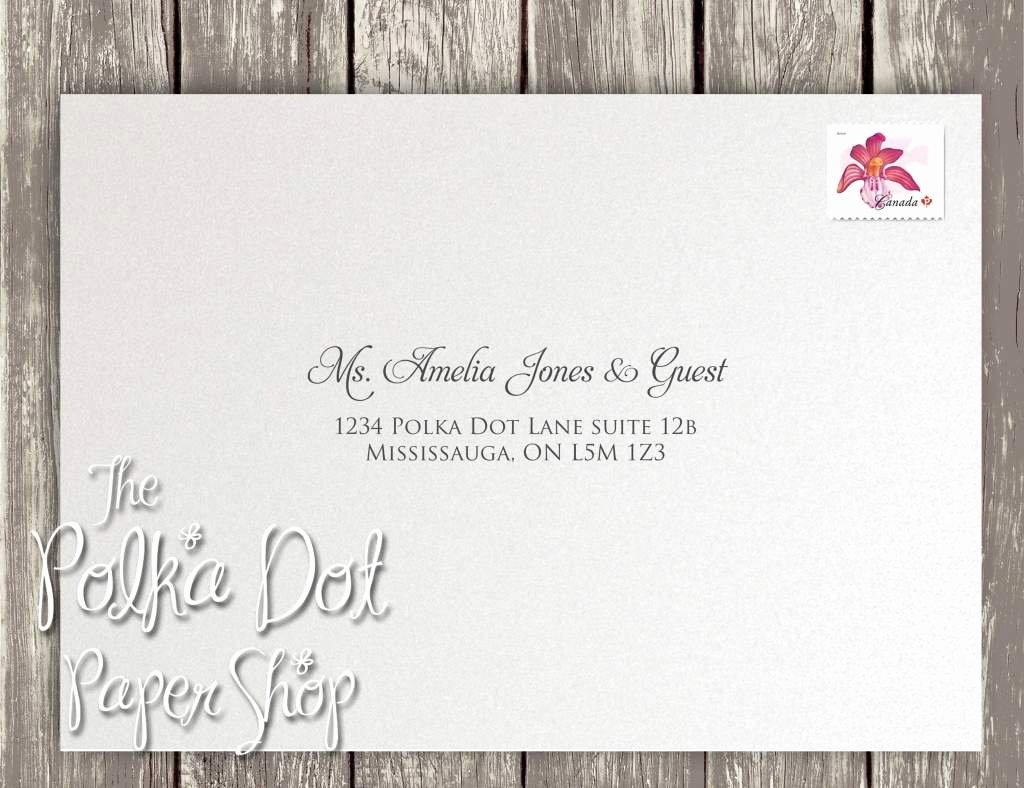 Wedding Address Label Template Fresh Wedding Invitation Labels