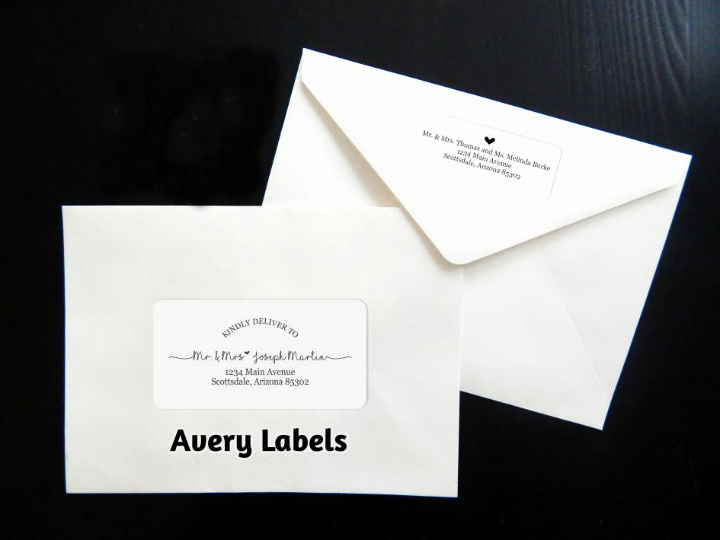 Wedding Address Label Template Unique 17 Wedding Address Label Designs Psd Vector Eps