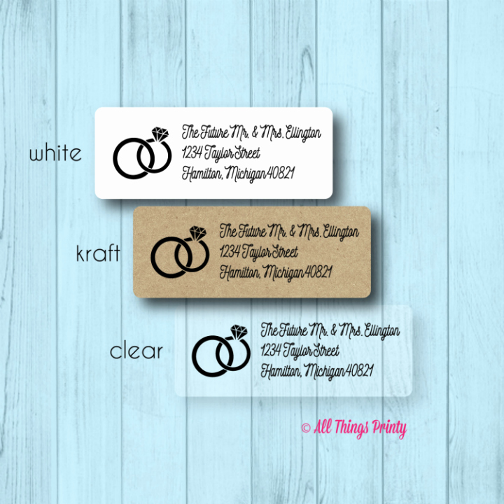 Wedding Address Labels Template Beautiful 17 Wedding Address Label Designs Psd Vector Eps