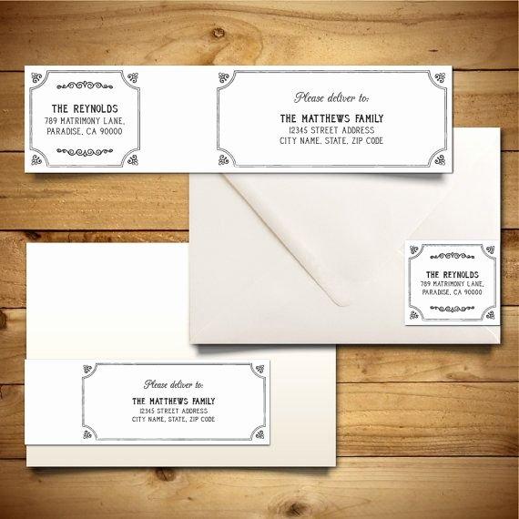 Wedding Address Labels Template Fresh Best 25 Address Label Template Ideas On Pinterest