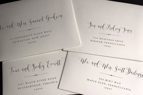 Wedding Address Labels Template Luxury Envelope Template Envelope Address Template Wedding