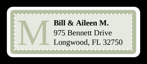 Wedding Address Labels Template Unique Chesapeake Pistachio Wedding Address Label Label