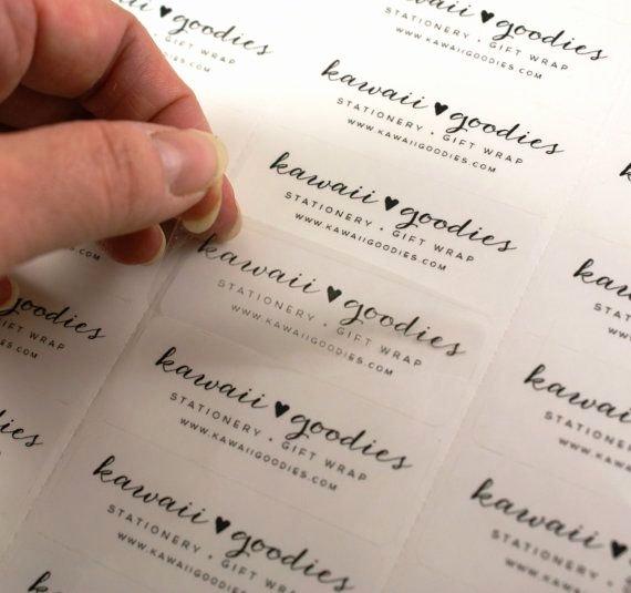 Wedding Address Labels Template Unique Custom Print Clear Address Labels 2 5 8 X 1 Transparent