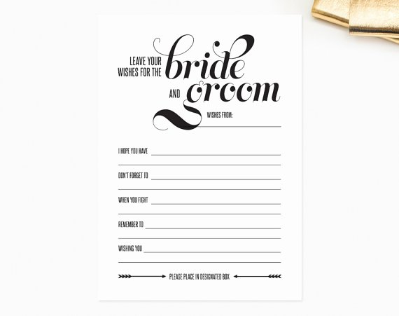 Wedding Advice Cards Template Fresh 7 Best Of Wedding Mad Libs Pdf Template Printable