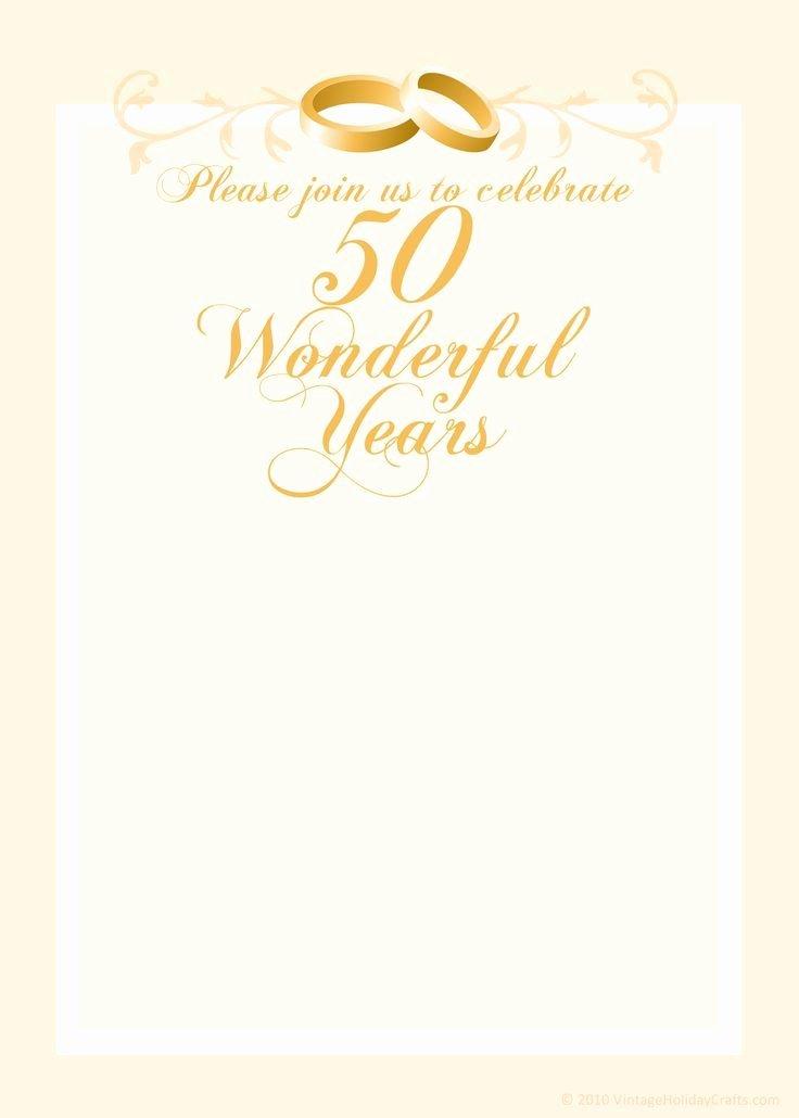 Wedding Anniversary Invitation Template Best Of Free Anniversary Invitation Templates