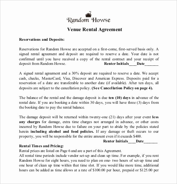 Wedding Band Contract Template Lovely Wedding Venue Contract Template – Emmamcintyrephotography