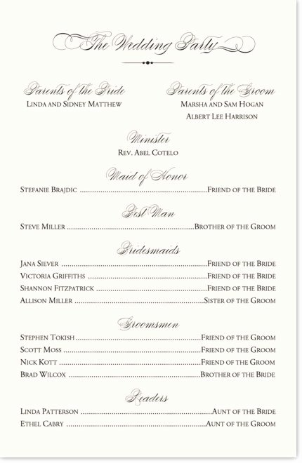 Wedding Church Program Template Inspirational Sample Invitation to A Gospel event