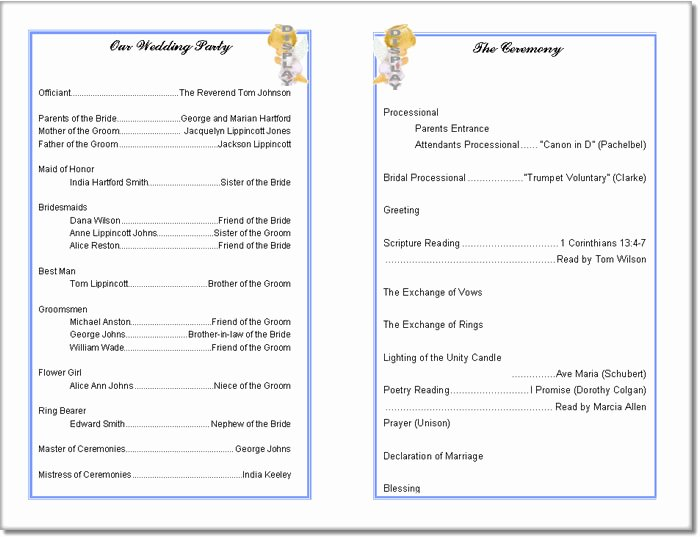 Wedding Church Program Template Lovely 7 Best Of Free Printable Retirement Party Program