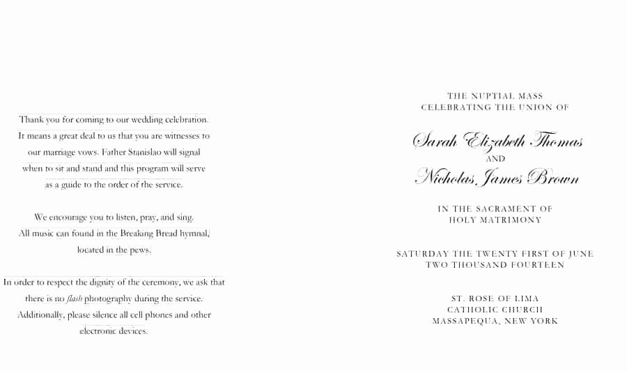 Wedding Church Program Template Luxury Church Program Template Signature Annual Performance