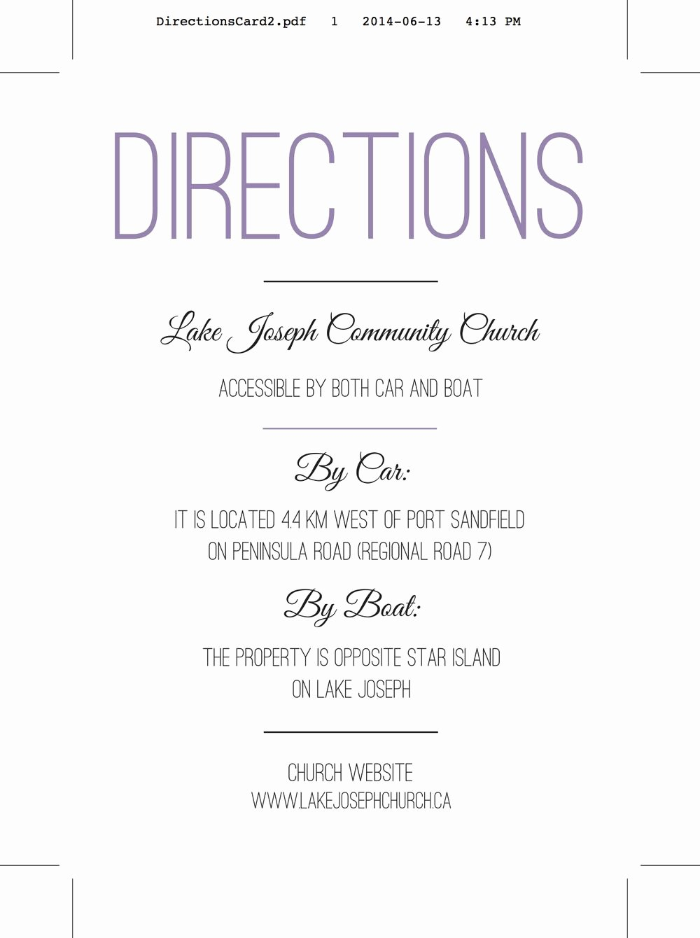 Wedding Direction Cards Template Fresh Wedding Invitation Directions Card Wedding Reception