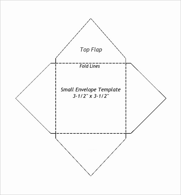 Wedding Envelope Printing Template Best Of Small Envelope Templates – 9 Free Printable Word Pdf