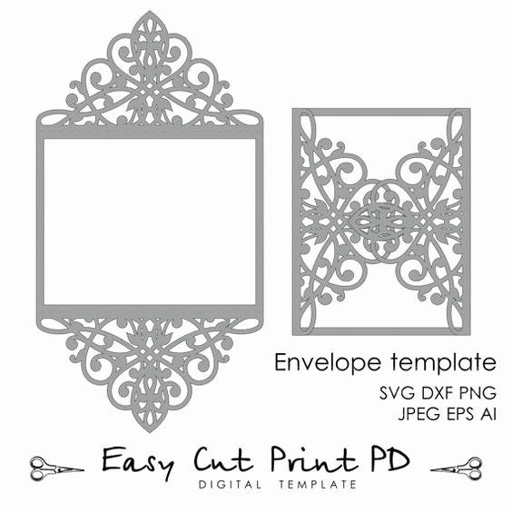 Wedding Envelope Printing Template Inspirational 1000 Ideas About 5x7 Envelopes On Pinterest