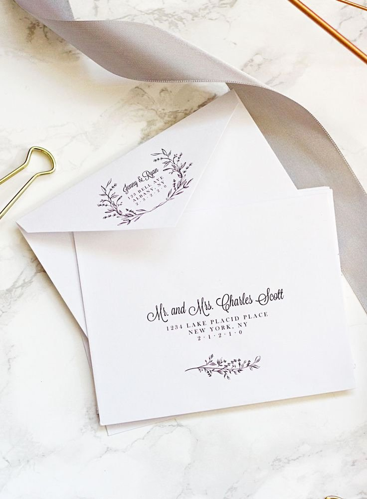 Wedding Envelope Printing Template New Best 25 Envelope Template Printable Ideas On Pinterest