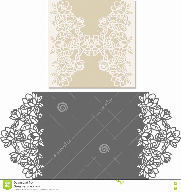 Wedding Envelope Printing Template Unique Laser Cut Envelope Template for Invitation Wedding Card