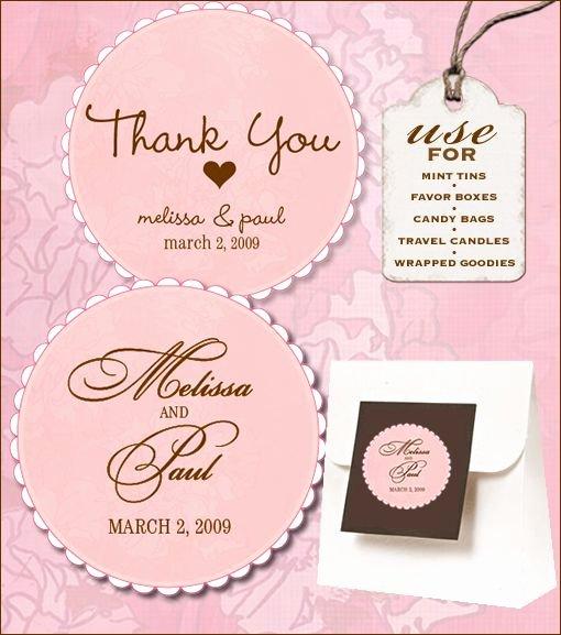 Wedding Favor Labels Template Best Of 12 Best Wedding Labels