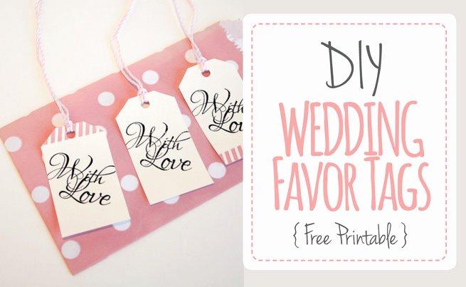 Wedding Favor Labels Template Elegant Wedding Diy Archives